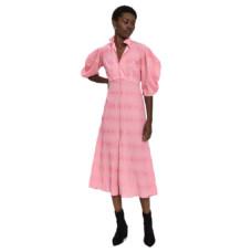 rachel comey amplus split neck dress