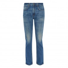 rag and bone lucile faded mid rise slim leg jeans