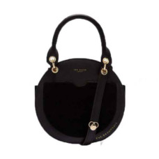 ted baker sunnie leather circular bag