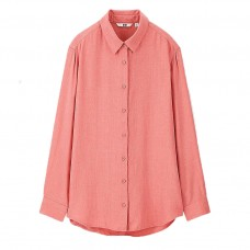 women rayon long sleeve blouse