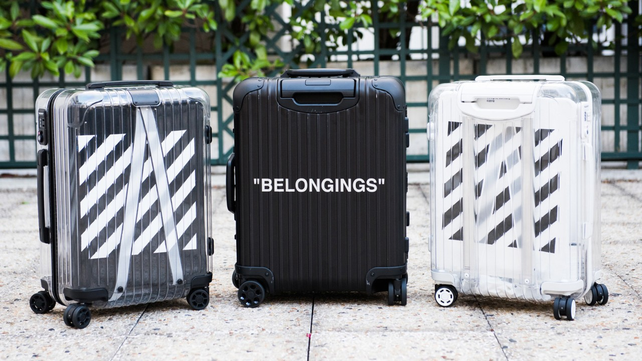 The Latest Off-White x Rimowa Suitcases Have Arrived
