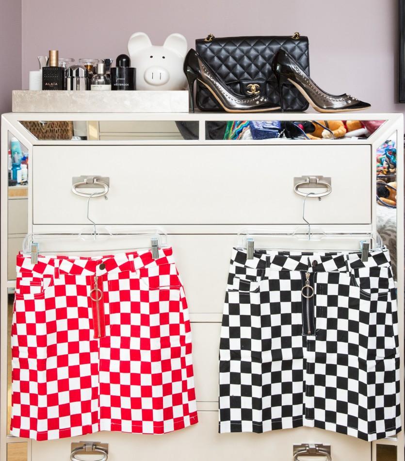 inside dascha polanco closet