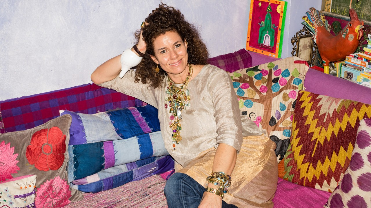 Imagine Every Color at the Same Time—That's Pippa Small's London Home