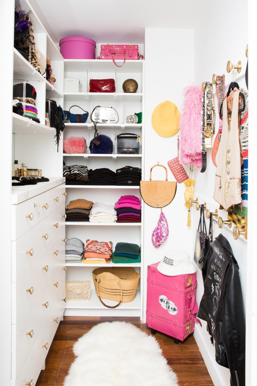 Inside Theodora Richards Closet .