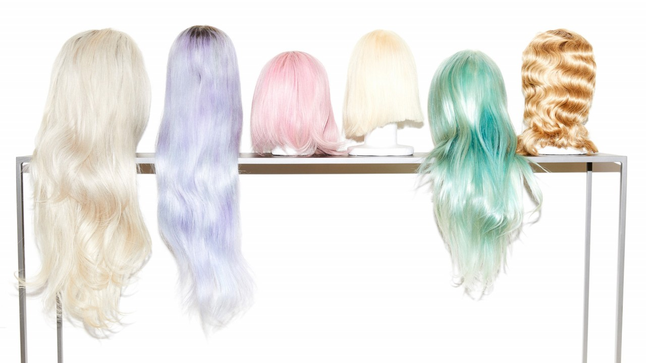 Chris Appleton's Home Is a Sea of Hair Products and Candy-Colored Extensions