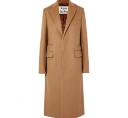 Wool-Blend Felt Coat by Acne Studios