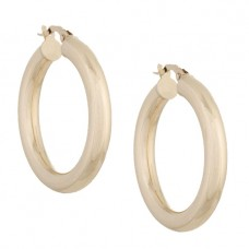 adina's jewels hollow hoops