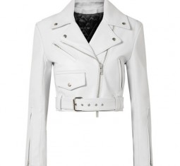 Leather Moto Jacket by Calvin Klein 205W39NYC