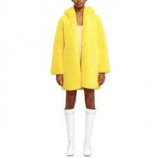 lemonplet by choyo fun faux fur coat