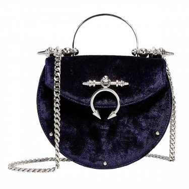 okhtein saddle velvet crossbody