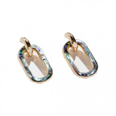 pamela love inlay beaumont earring