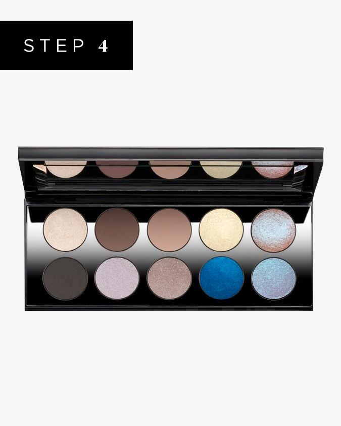 how to get bold iridescent eye makeup