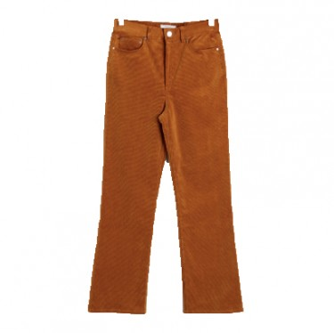 stories kick flare corduroy trousers