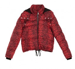 Animal Print Puffer Jacket by Zara