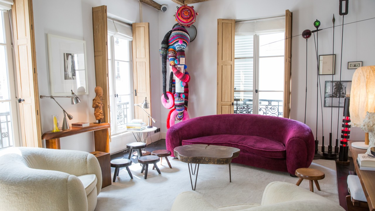 Meet the French Perfumer Whose Paris Townhouse Doubles as an Art Gallery