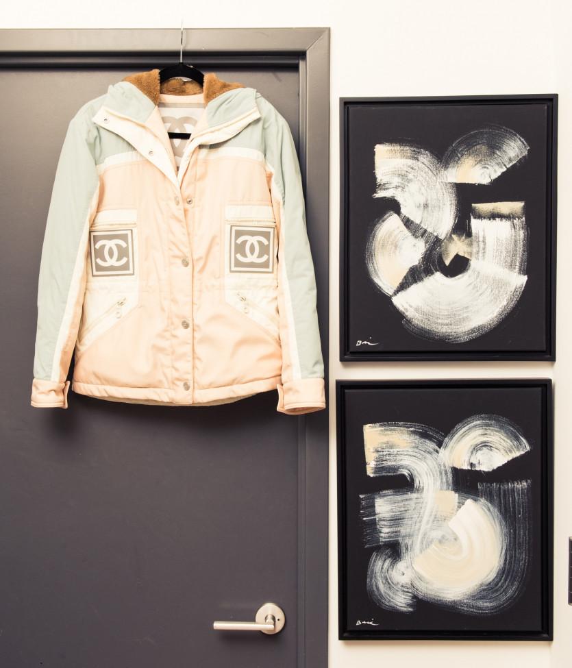 inside bregje heinen closet