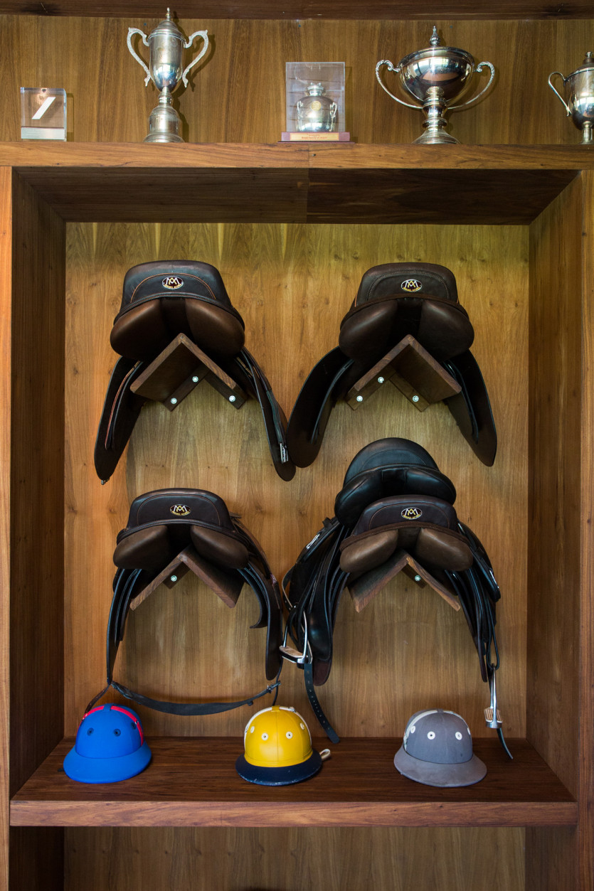 inside delfina blaquier closet