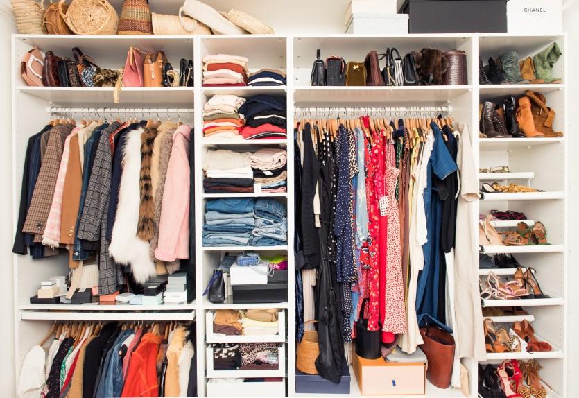 inside sabina socol closet