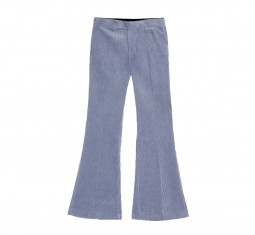 Flared Corduroy Pants by Zara