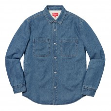 supreme sherpa lined denim shirt