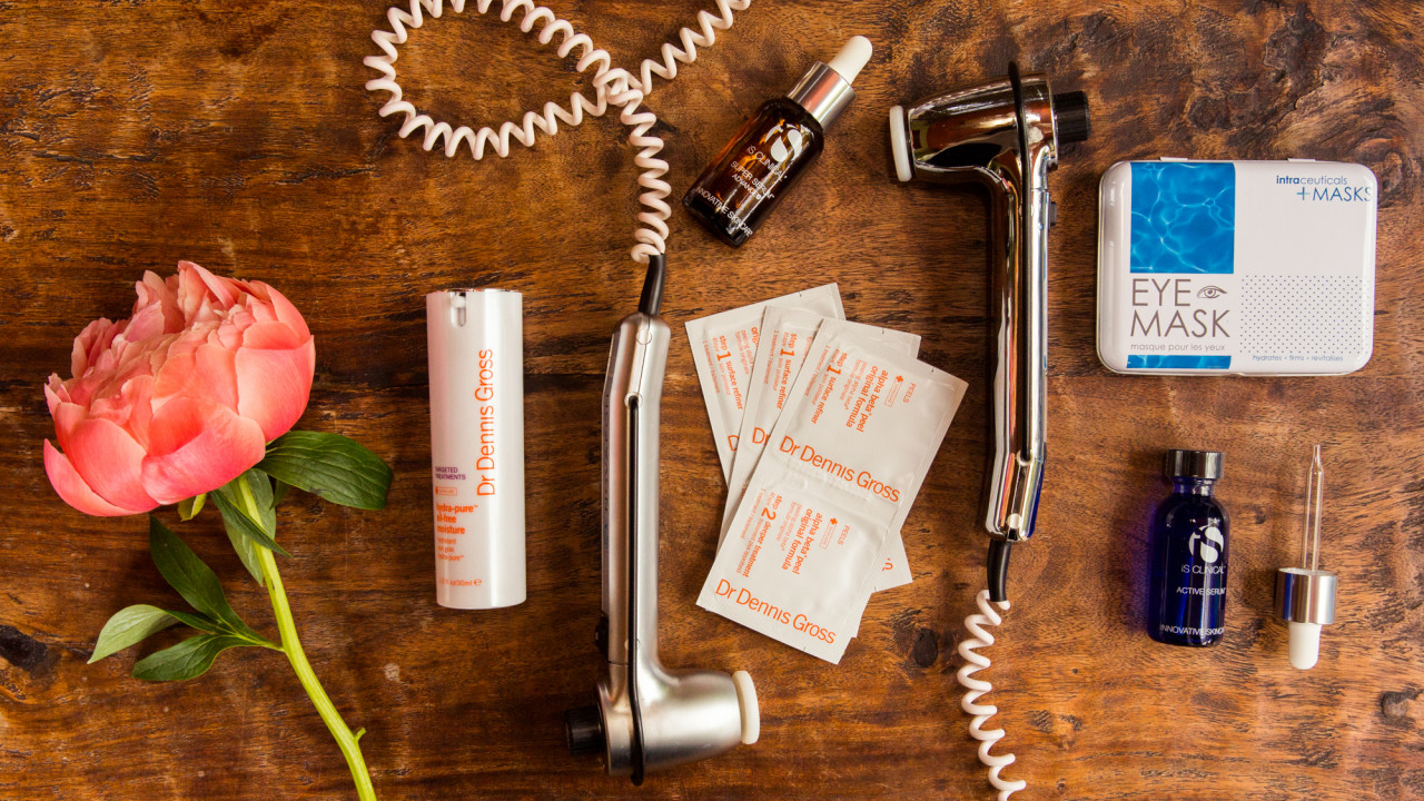 dermatologist recommended acid skin care