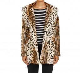 Elara Leopard-Print Fur Coat by A.L.C.