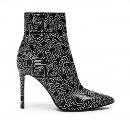 x Keith Haring Razi Bootie by Alice + Olivia