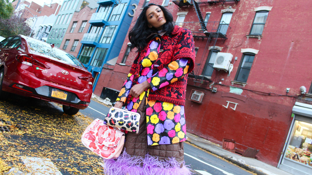 A New Designer Is Customizing Vintage Bags & Outerwear, & We're Obsessed