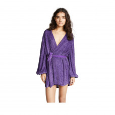 gabrielle sequin robe dress