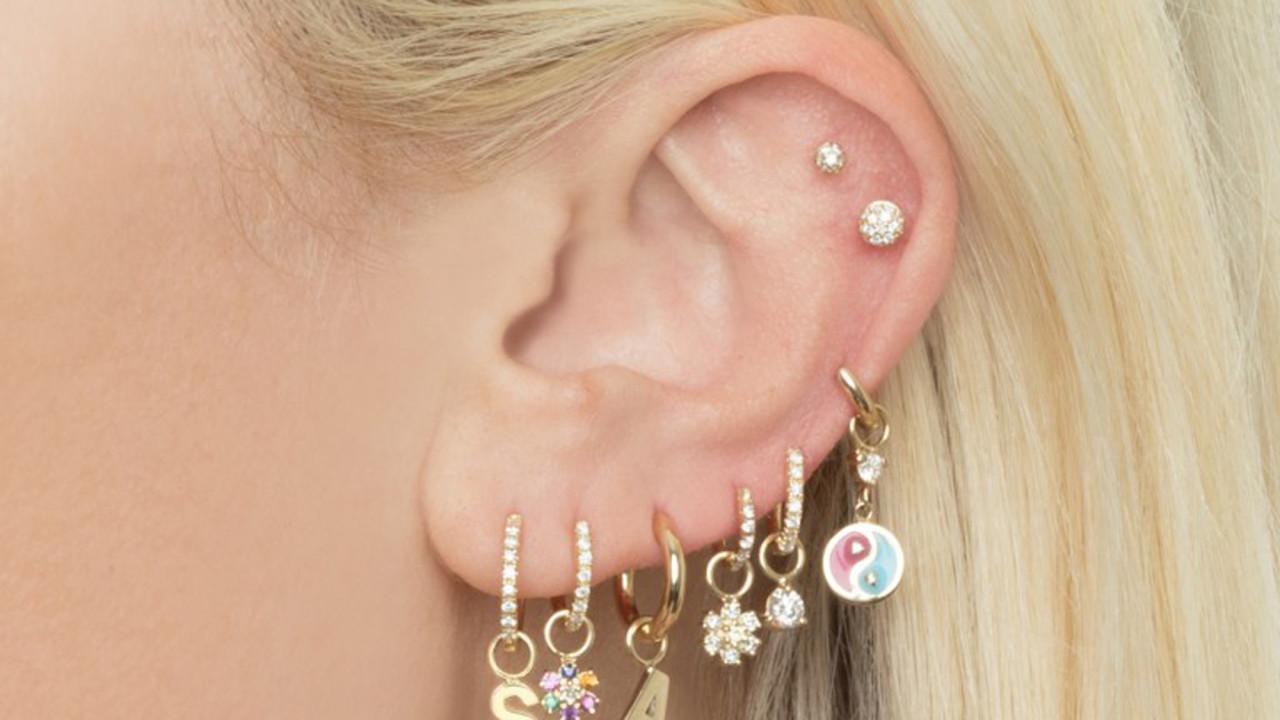 Multiple Piercings Have Never Been More Popular