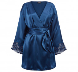 Maison Silk Satin Robe by La Perla