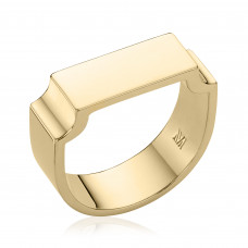 monica vinader signature wide ring