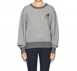 """Daytona"" Cotton Terry Sweatshirt by Rag & Bone"