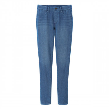 uniqlo women heattech denim leggings pants