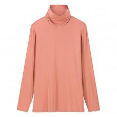uniqlo women heattech turtleneck long sleeve t-shirt