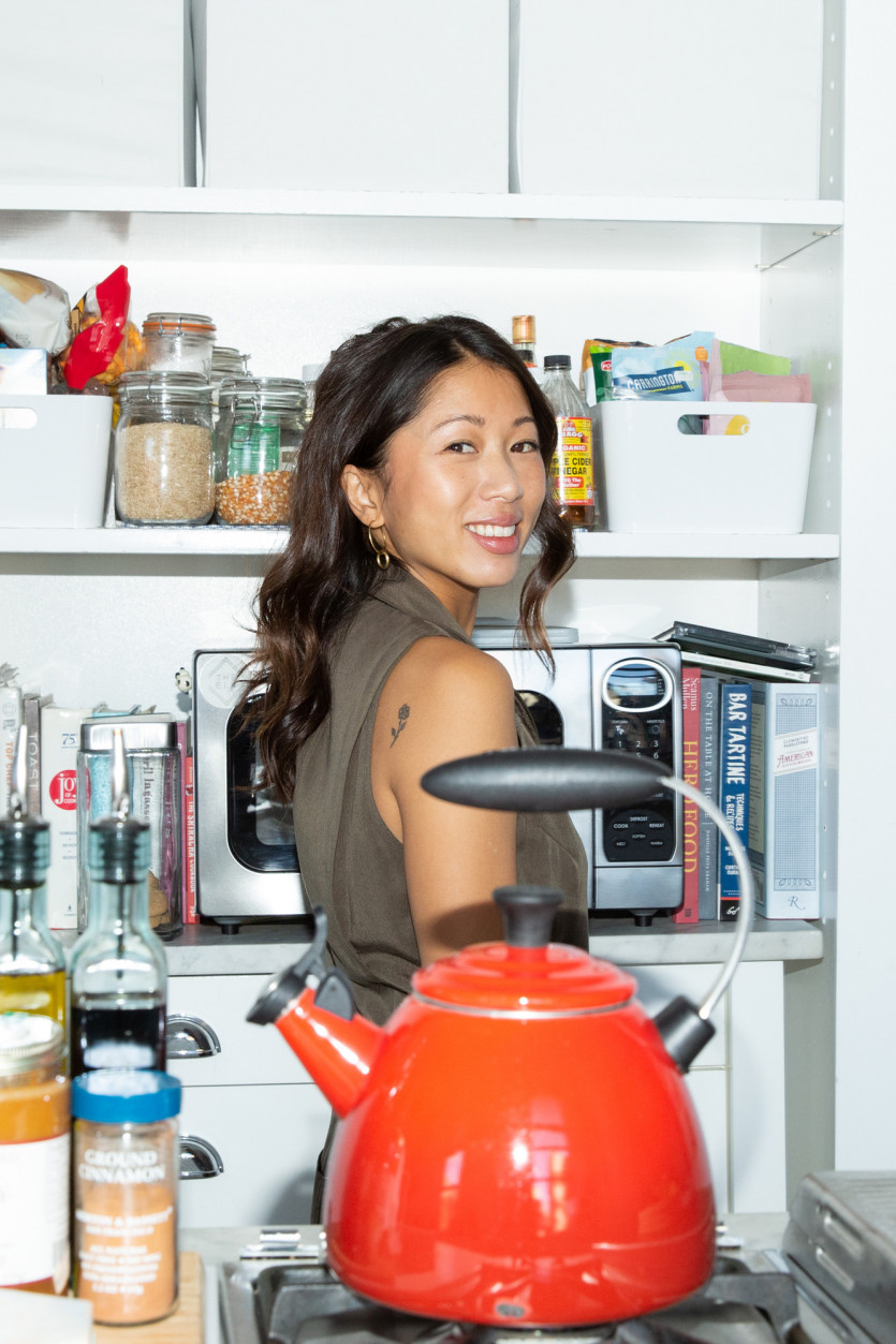 inside claire chan kitchen