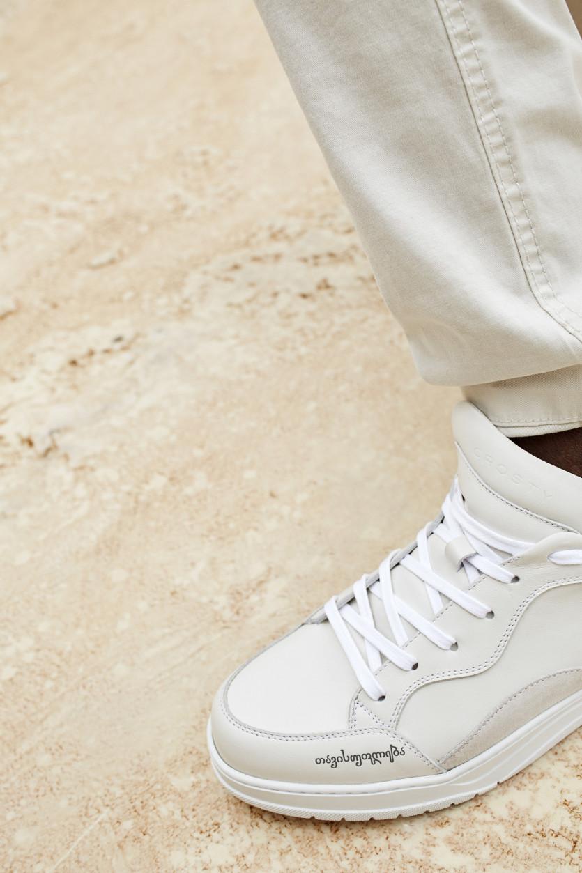 new luxe sneaker brand crosty