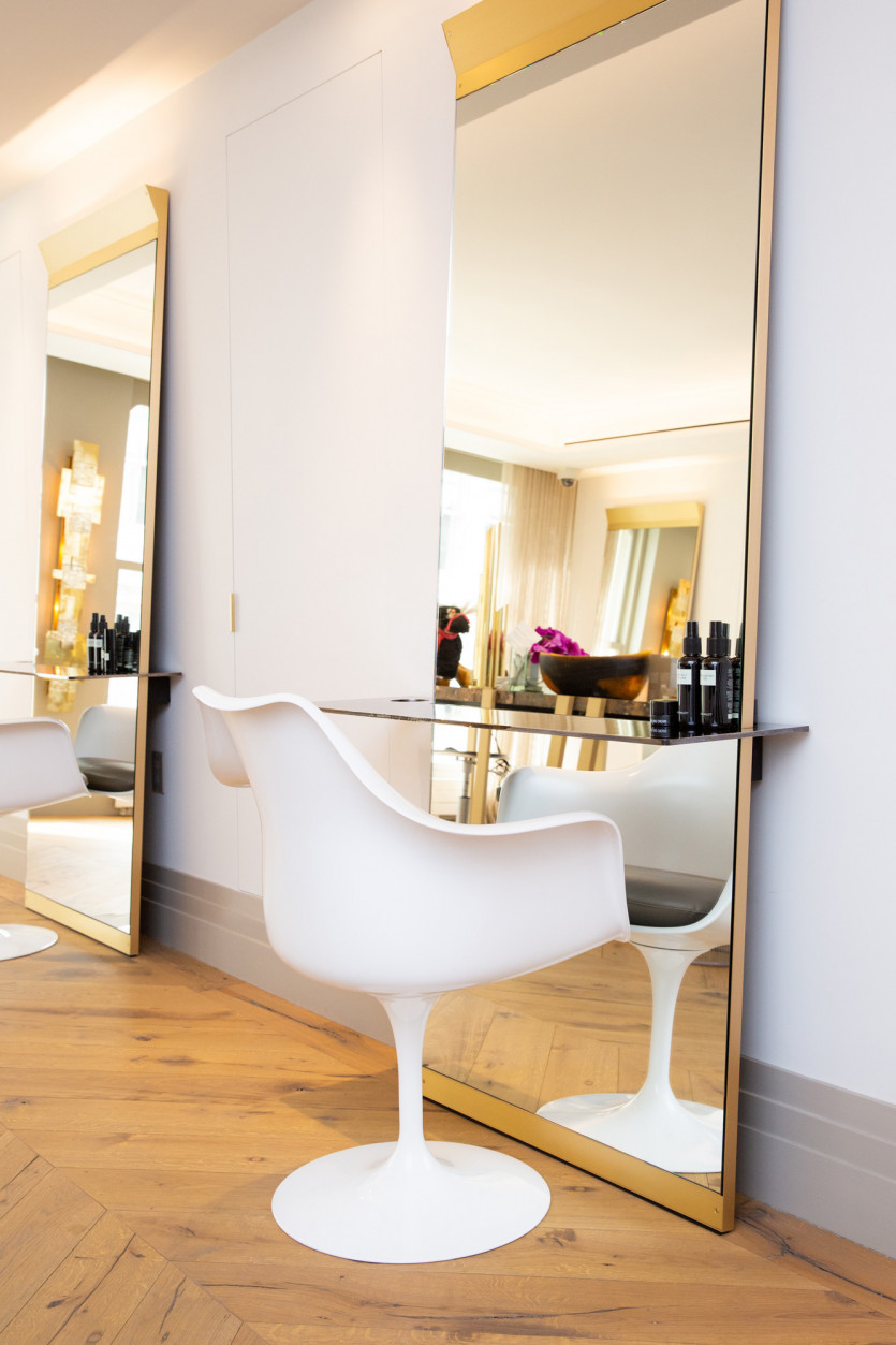 inside david mallet new york salon