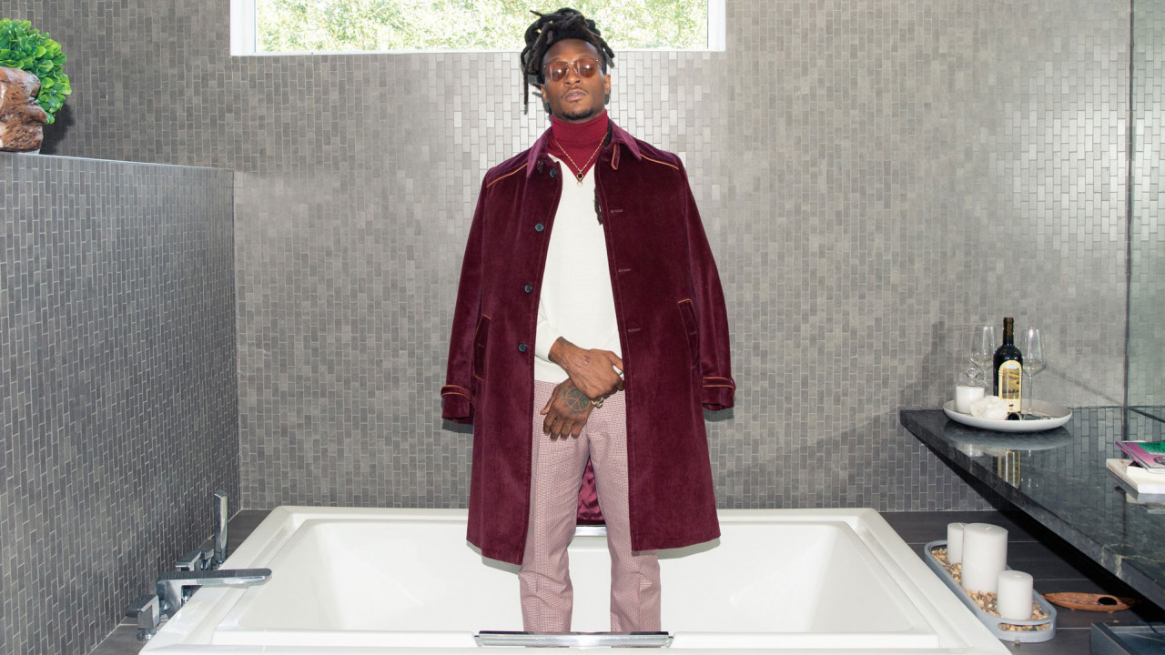 We'd Pay Rent to Live in DeAndre Hopkins's Designer-Filled Closet