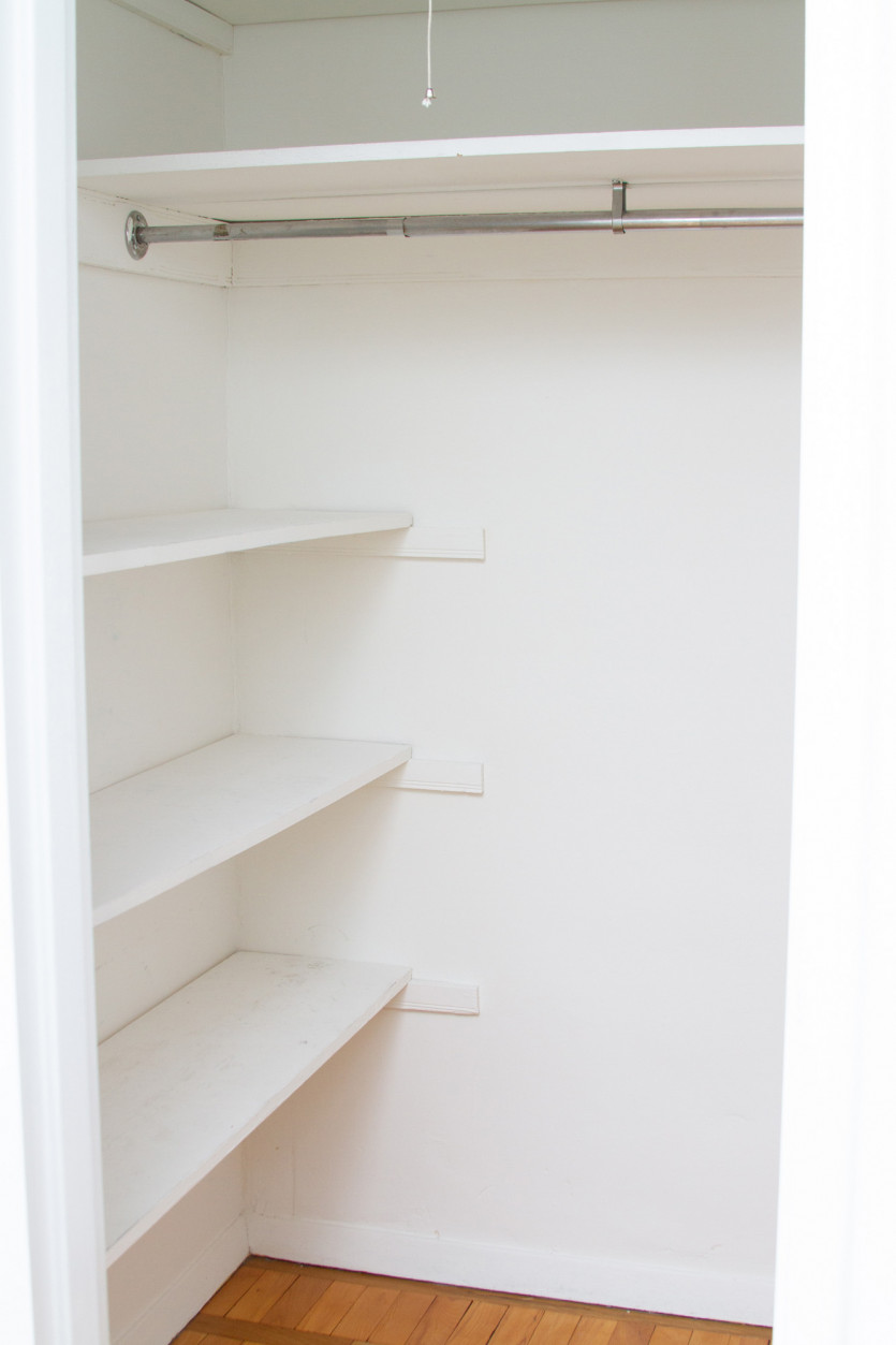 how to organize closet and beauty products