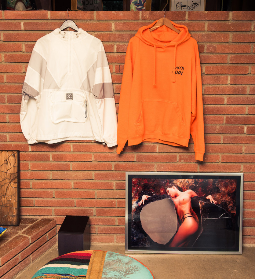 inside emanuele d'angelo closet