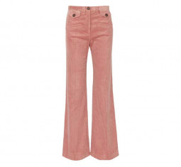 Flare Corduroy Trousers by Alexa Chung