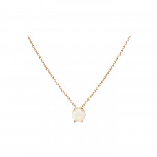 aurate new york simple opal necklace