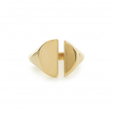 bing bang nyc divided signet ring