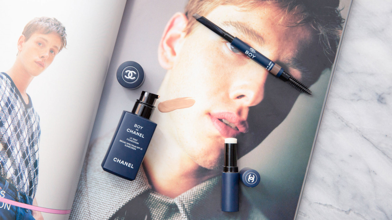 chanel boy de chanel makeup collection review