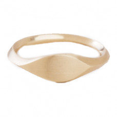 dan-yell simple signet ring