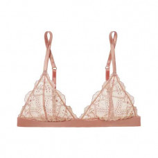 id sarrieri satin trimmed embroidered tulle soft cup triangle bra