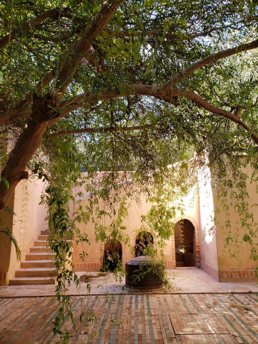 inside dar el sadaka villa
