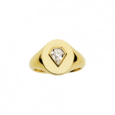 jemma wynne prive diamond shield signet ring