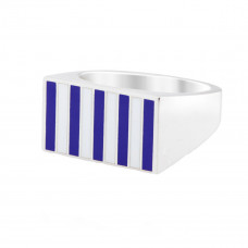 jessica biales striped signet block
